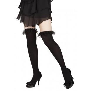 Bas rosalie noir