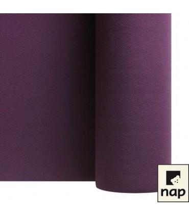 Nappe non tissé aubergine 10m