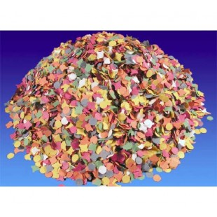 Confettis multicolores - 100 gr