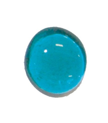 Galets cristal vert turquoise