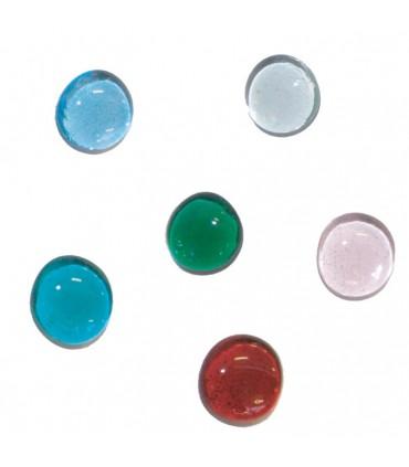 Galets cristal vert anis