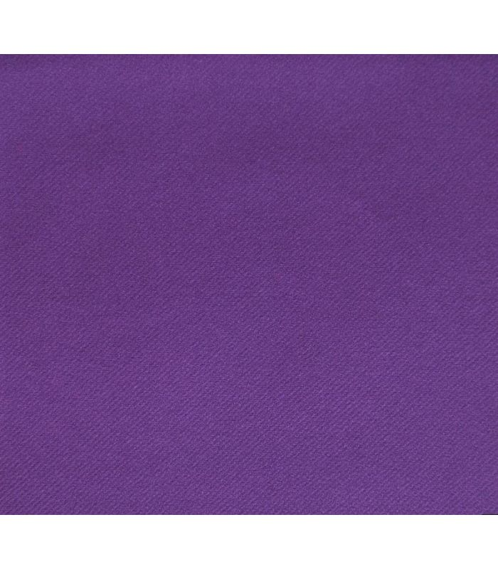 Chemin de table non tiss blanc - Chemin de table violet ...