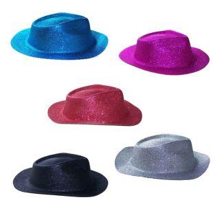 Chapeau capone paillette