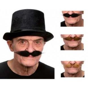 Moustache polonaise noire