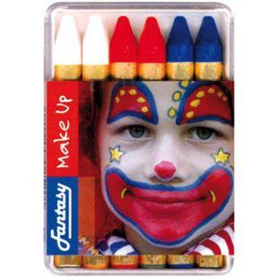 Crayons tricolores x 6