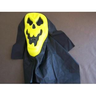 Masque cape jaune