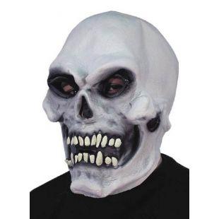 Masque citrouille blanche
