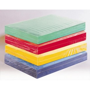 Set papier uni lot de 100