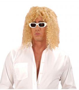 Perruque chanteur blond