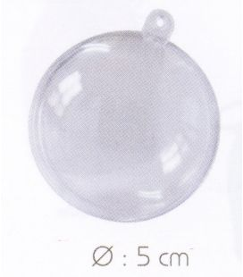 Boule transparente 5 cm