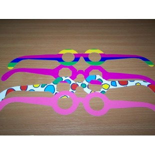 Lunette carton Lot de 5