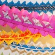 Guirlande multicolore