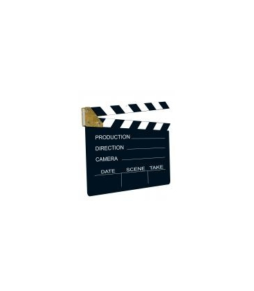 Cut out clap cinéma