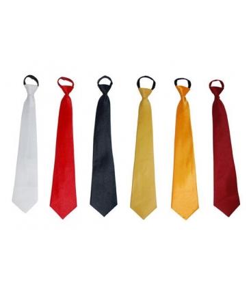 Cravate couleur