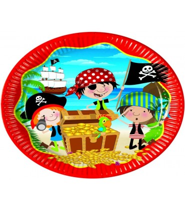 Assiettes pirate