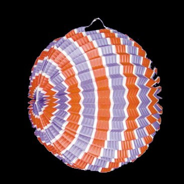 Lampion ballon tricolore