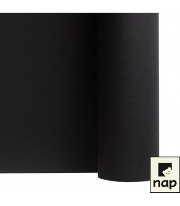 Nappe non tissé noire 10m