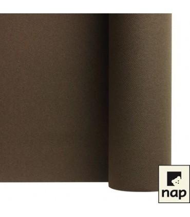 Nappe non tissé chocolat 10m