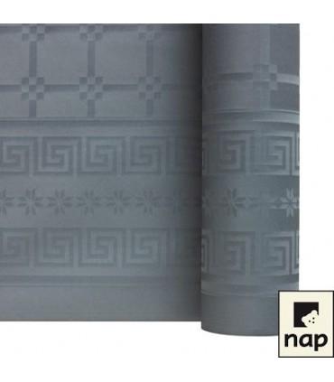 Nappe papier damassé grise