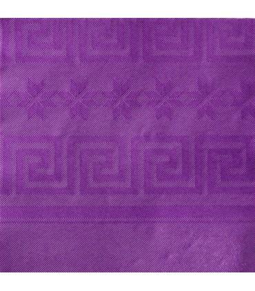 Nappe papier damassé couleurs 1.20 x 25 m