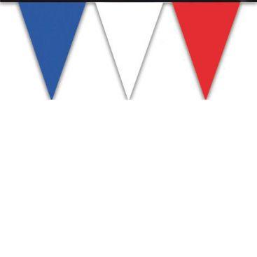 Guirlande PVC tricolore