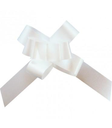 Noeud automatique 14mm blanc