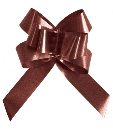 Noeud automatique 14mm chocolat
