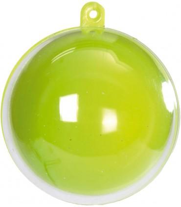 Boule transparente anis