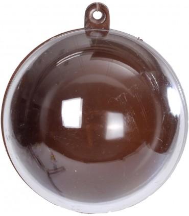 Boule transparente chocolat