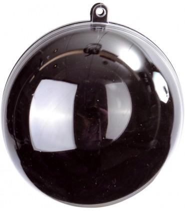Boule transparente noir