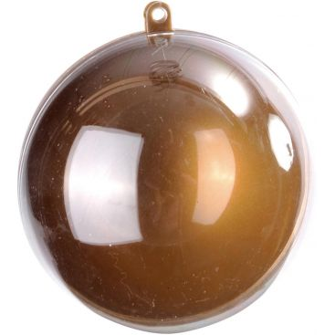 Boule transparente or