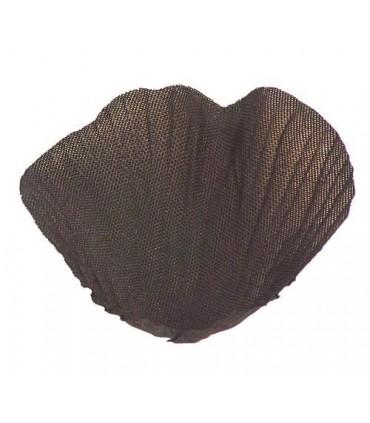 Pétale tissu chocolat