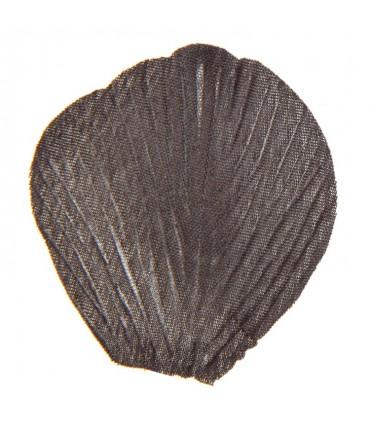 Pétale tissu noir