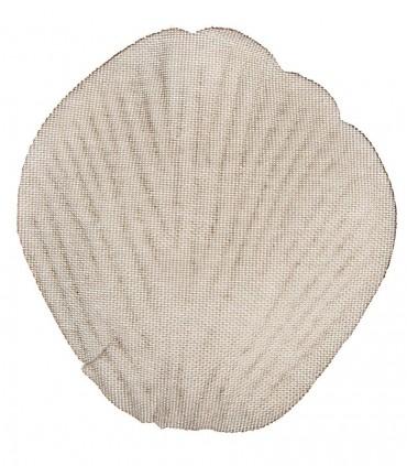 Pétale tissu taupe