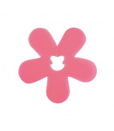 Clip fleur fuchsia