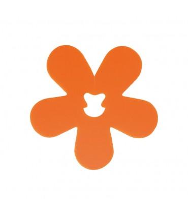 Clip fleur orange