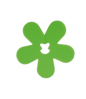 Clip fleur vert
