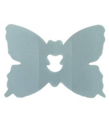 Clip papillon argent