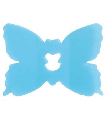 Clip papillon turquoise
