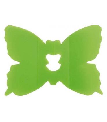 Clip papillon vert