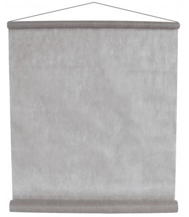 Tenture intissé gris