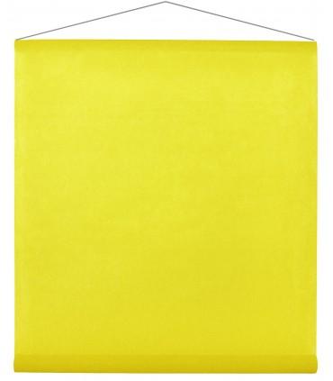 Tenture intissé jaune
