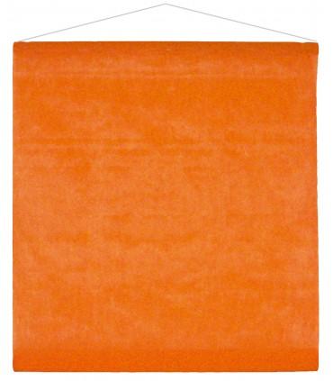 Tenture intissé orange
