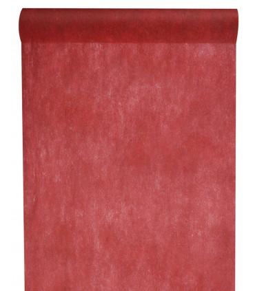 Rouleau intissé 29 cm bordeaux