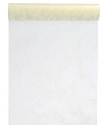 Rouleau intissé 29 cm ivoire