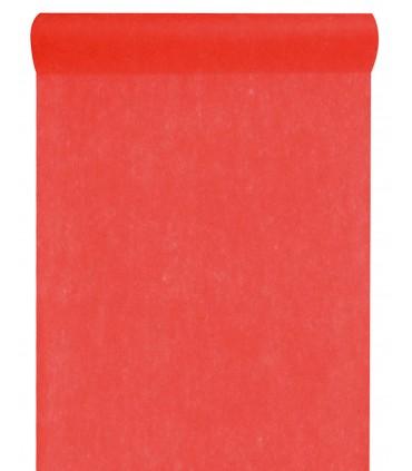 Rouleau intissé rouge