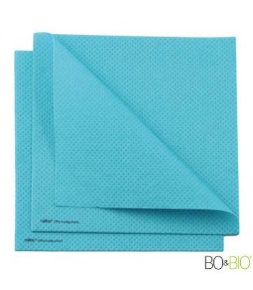 Serviette célibio bleu