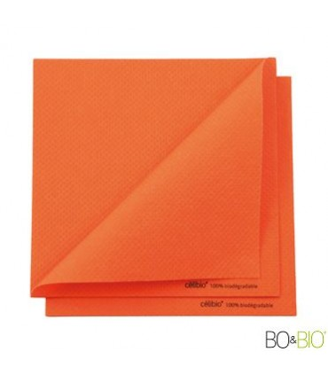 Serviette célibio orange