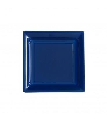 Assiette dessert 18cm bleu