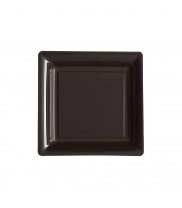 Assiette dessert 18cm chocolat